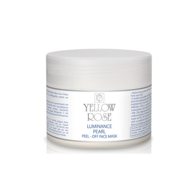 Yellow Rose Luminance Pearl Peel-Off Face Mask (150gr)