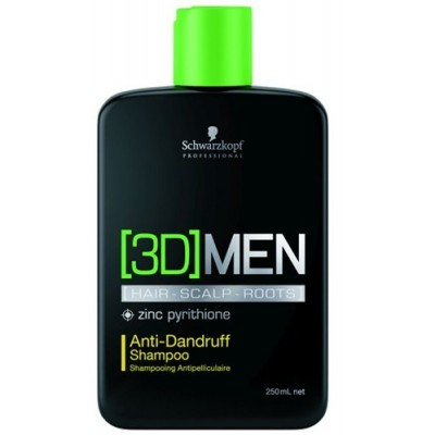 Schwarzkopf Professional [3D]MENSION Anti-Dandruff Shampoo (250ml)