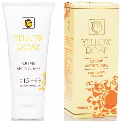 Yellow Rose Creme Antisolaire (UVA/UVB) SPF 15 (50ml)