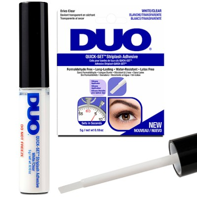 Ardell Duo Quick Set Striplash Adhesive - White/Clear (5g)