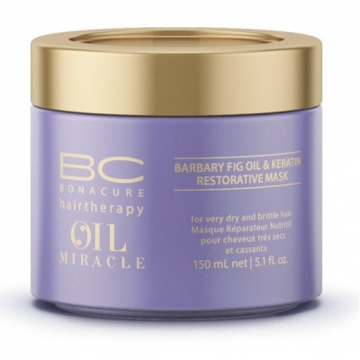 Schwarzkopf Professional BC Oil Miracle Barbary Fig Oil & Keratin Restorative Mask (150ml)