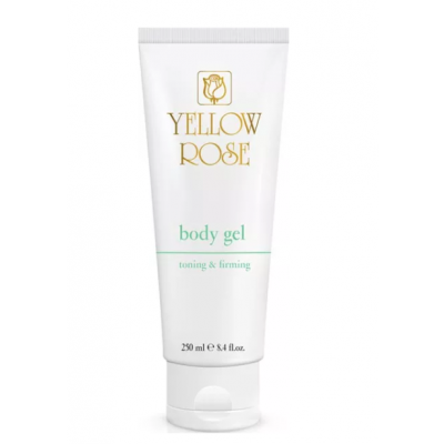 Yellow Rose Body Gel Toning and Firming (250ml)