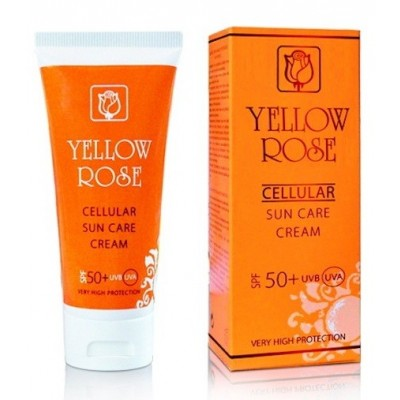 Yellow Rose Cellular Sun Care Cream (UVA/UVB) SPF 50+ (50ml)