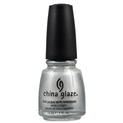 China Glaze - Platinum Silver (14ml)