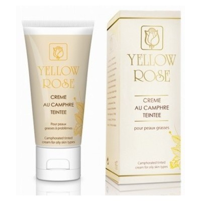 Yellow Rose Creme Au Camphre Teintee (50ml)