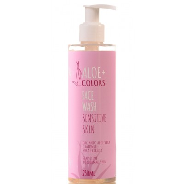 Aloe+ Colors - Face Wash Sensitive Skin (250ml)