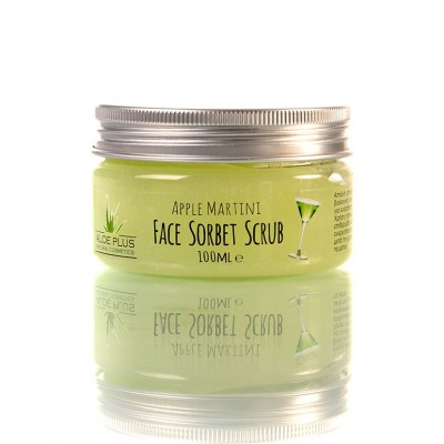 Aloe+ Colors - Apple Martini Face Sorbet Scrub (100ml)