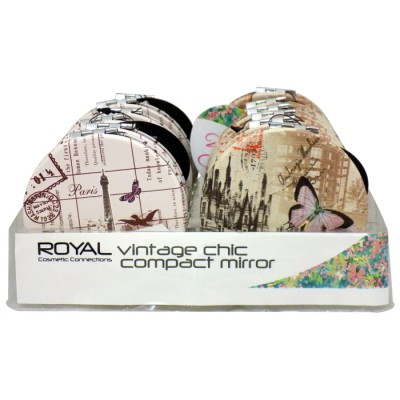 Royal - Vintage Chic Compact Mirror (1 τμχ)
