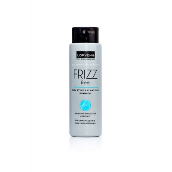 Lorvenn - Frizz Free Curl Style & Elasticity Shampoo (300ml)