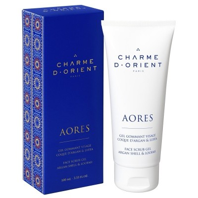 Charme d' Orient Face Scrub Gel with Argan Shell & Loofah (100ml)