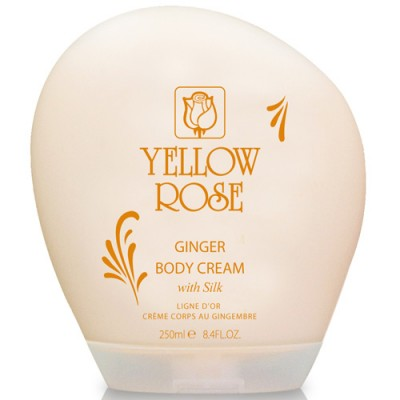 Yellow Rose Ginger Body Cream With Silk (250ml)