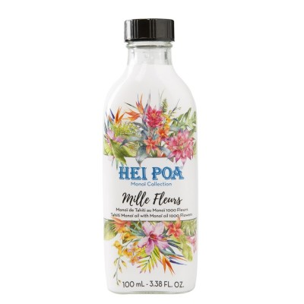 Hei Poa - Pure Tahiti Monoi Oil Flowers (100ml)