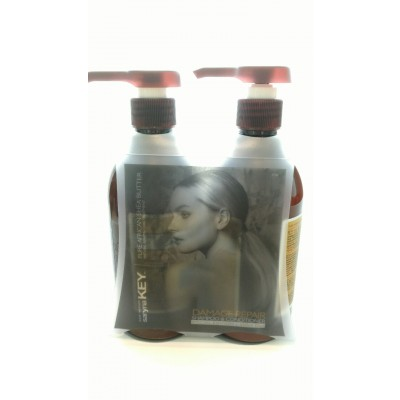 saryna KEY Special Set Pure African Shea Shampoo (500ml) & Conditioner Damage Repair (500ml)