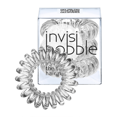 Invisibobble Permanent Collection Crystal Clear