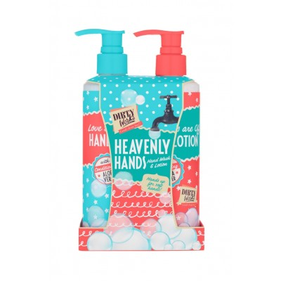 Dirty Works Heavenly Hands Hand Wash (250ml) & Lotion (250ml)