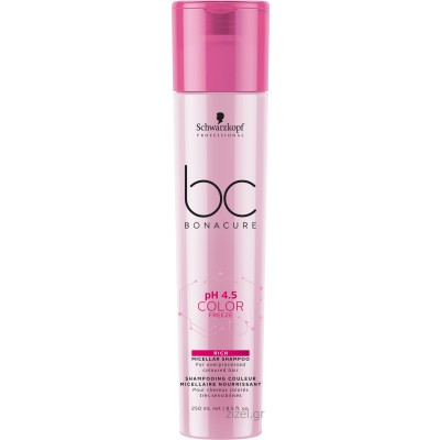 Schwarzkopf Professional BC Bonacure pH 4.5 Color Freeze Rich Micellar Shampoo (250ml)