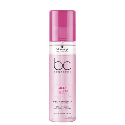 Schwarzkopf Professional BC Bonacure pH 4.5 Color Freeze Spray Conditioner (200ml)