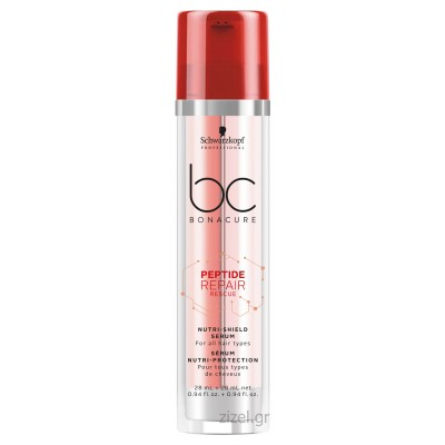 Schwarzkopf Professional BC Bonacure Peptide Repair Rescue Nutri-Shield Serum (28ml & 28ml)