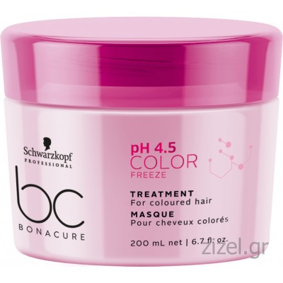 Schwarzkopf Professional BC Bonacure pH 4.5 Color Freeze Treatment (200ml)
