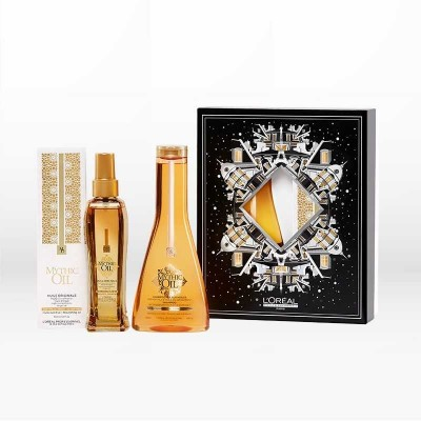 L'Oréal Professionnel Mythic Oil Set (Huile Originale 100ml & Shampoo για Κανονικά - Λεπτά Μαλλιά 250ml)