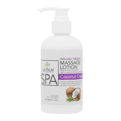 La Palm Healing Therapy Massage Lotion - Coconut Cream (240gr)