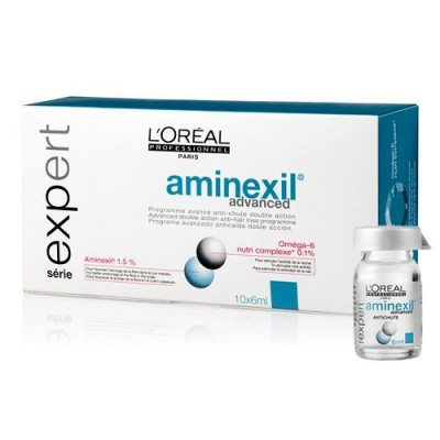 L'Oréal Professionnel Aminexil Advanced αμπούλες (10x6ml)