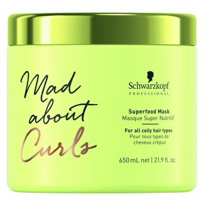 Schwarzkopf Professional Mad About Curls – Superfood Mask (650ml)