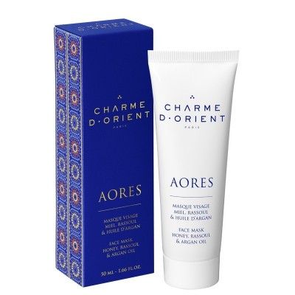 Charme d' Orient Face Mask with Honey, Ghassoul & Argan Oil (50ml)