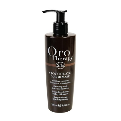 Fanola Oro Therapy 24k Color Mask - Colouring Mask Shine & Hydration - Cioccolato (250ml)