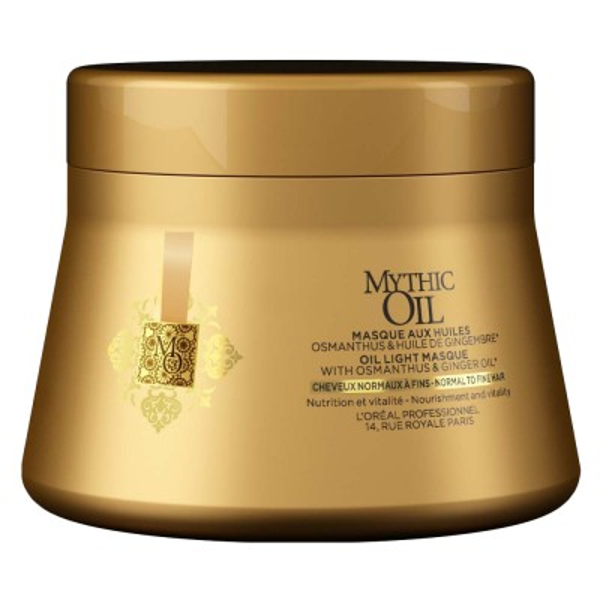 L'Oréal Professionnel Mythic Oil Masque για Κανονικά - Λεπτά Μαλλιά (200ml)