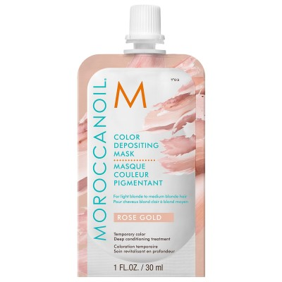 Moroccanoil Color Depositing Mask - Rose Gold (30ml)