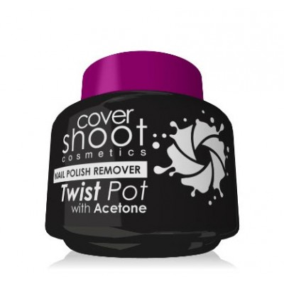 Royal - Cover Shoot Twist Pot Nail Polish Remover with Acetone (50ml)