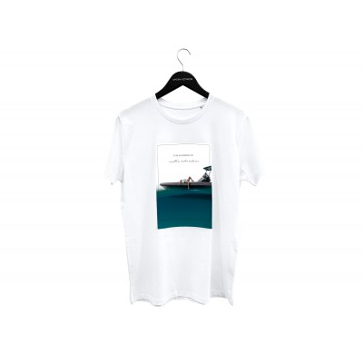 Marina Vernicos - The Summer of Endless Adventures - White - X Large