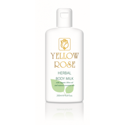 Yellow Rose Herbal Body Milk (200ml)
